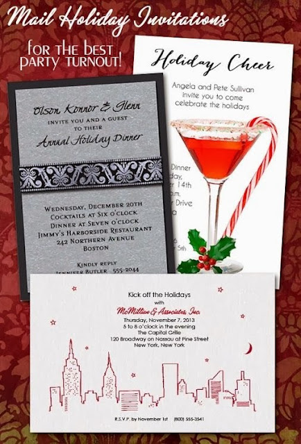 Shop Holiday Party Invitations from Announcingit.com