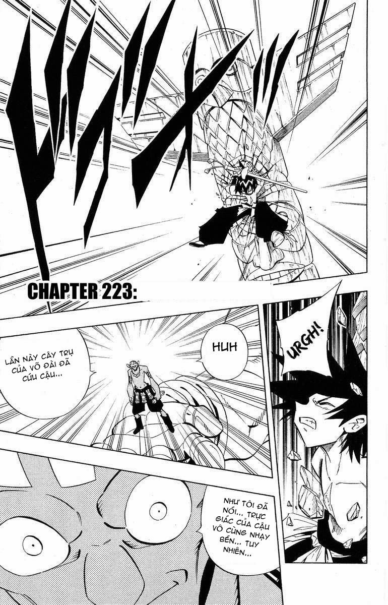 Shaman King [Vua pháp thuật] chap 223 trang 18
