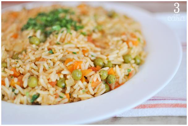 arroz mexicano receita