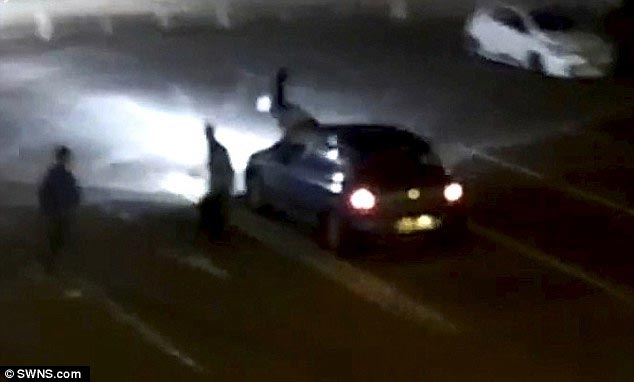 Video: Hit and run driver knocks man 15ft into the air then returns to crush him 2nd time