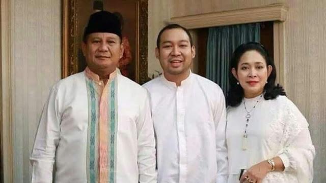 Putra Prabowo Pernah Sarankan Sang Ayah untuk Ganti Kostum