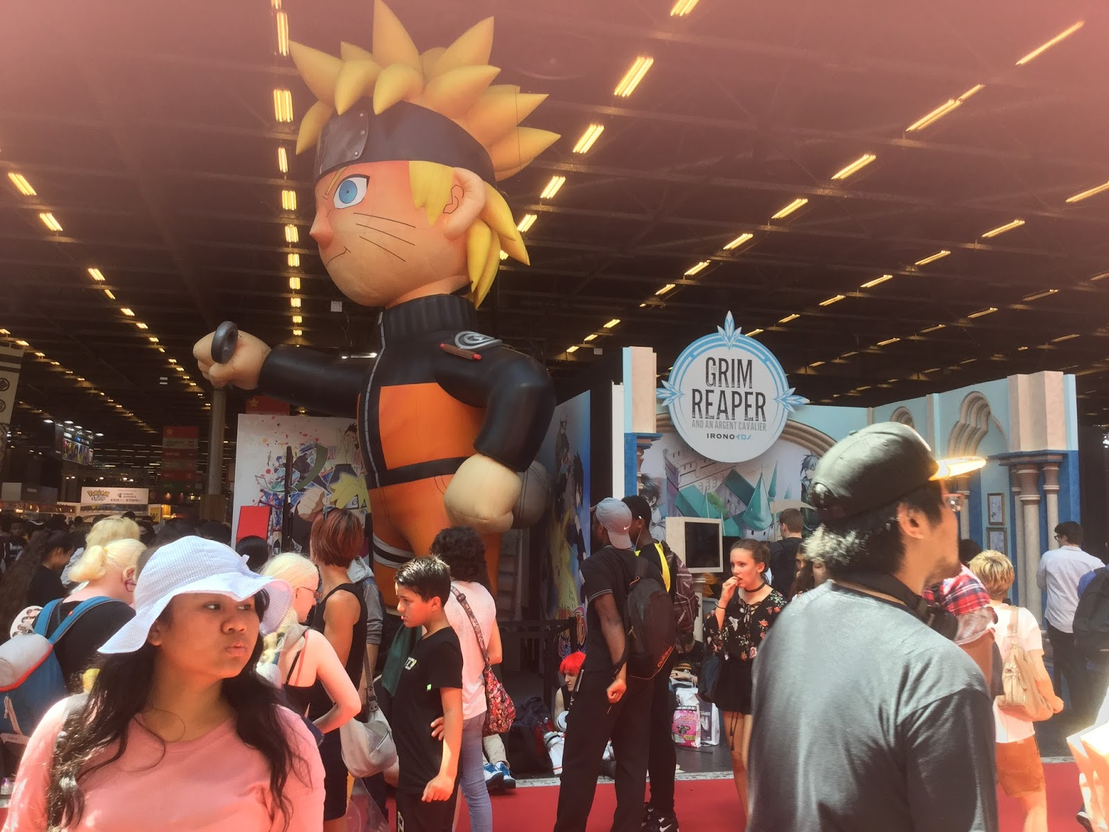 Club manga du coll ge valmy paris japan expo for Salon du manga paris juillet