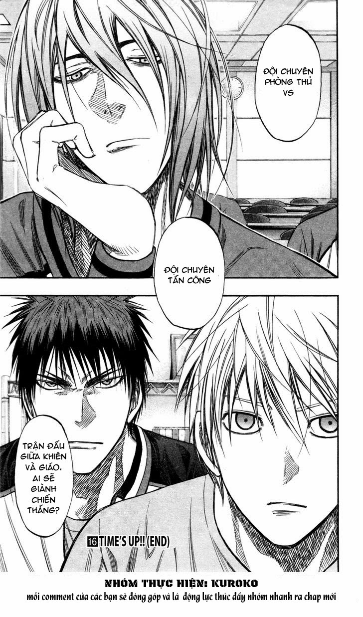 Kuroko No Basket chap 144 trang 18
