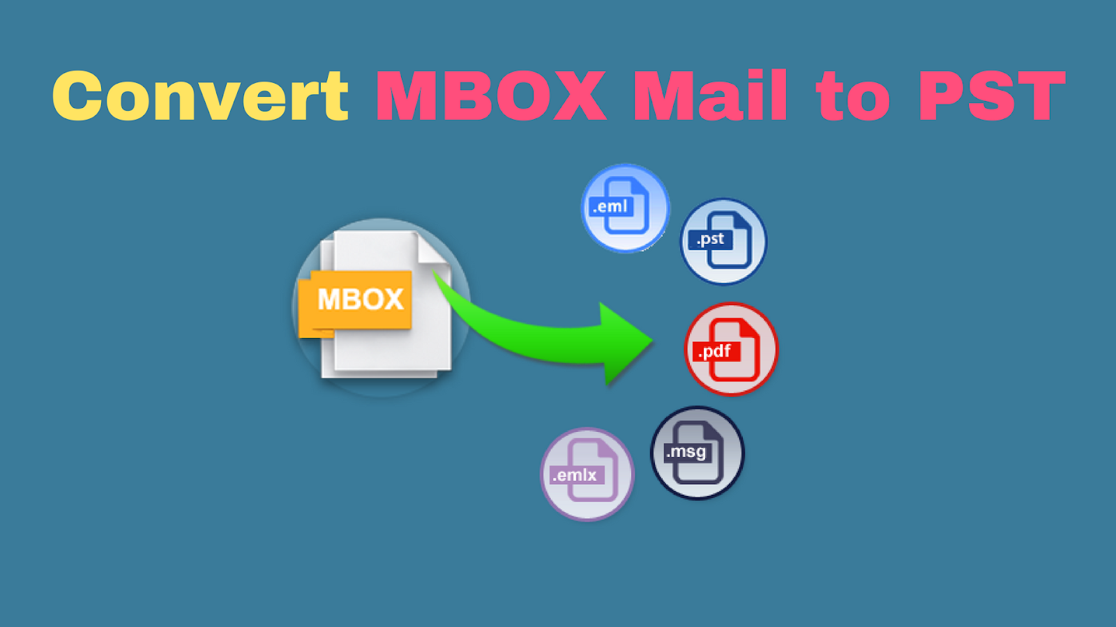 Smart Ways to Convert MBOX File to PST Manually | Easy