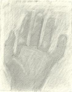 La mano izquierda de Carlos del Río