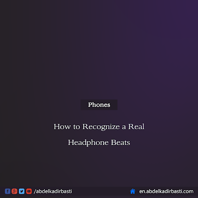 How to Recognize a Real Headphone Beats