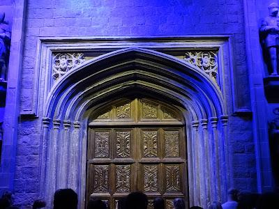 Puerta del Gran Comedor de Hogwarts