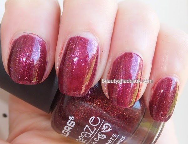 LA Colors Merlot Nail Polish