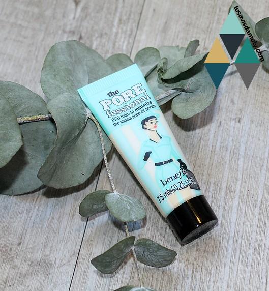 Benefit Cosmetics réduit l'apparence des pores