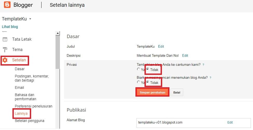 Cara Membuat Tema Blogger Dari Nol - 100% Bisa. #1