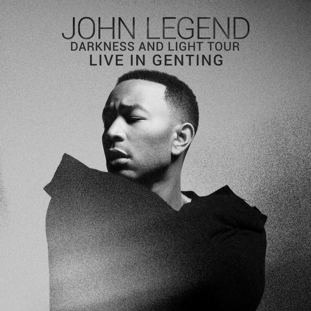 [Concert] John Legend - Darkness & Light Tour 2018 Live In Genting