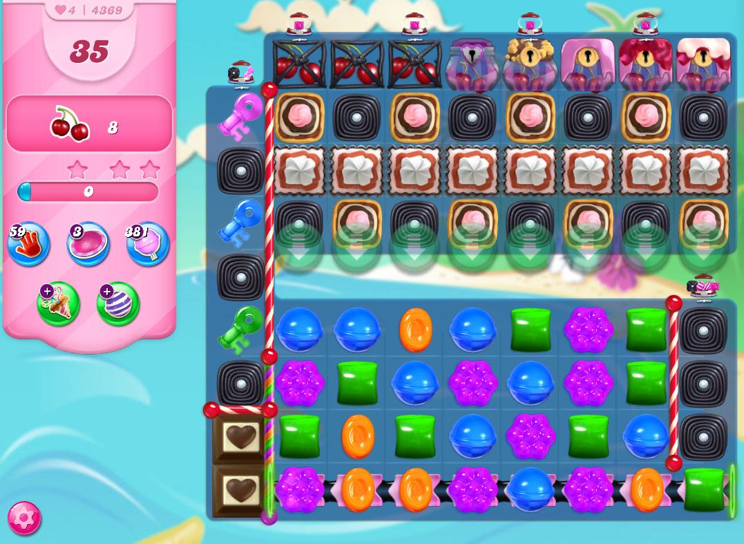 Candy Crush Saga level 4369