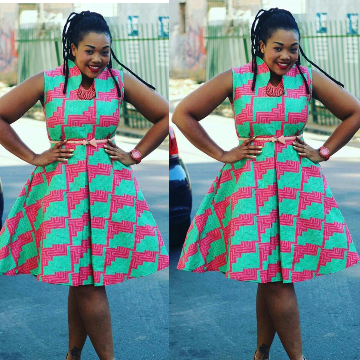Hottest Kitenge Dress Styles Fashenista