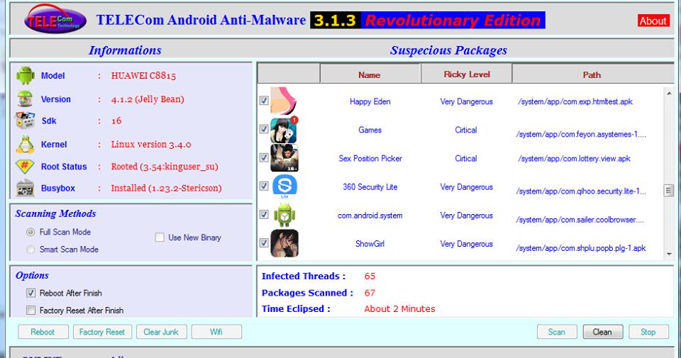 ពិភពAndroid-IOS&PC: TELECom Android Anti-Malware Version 3 ...