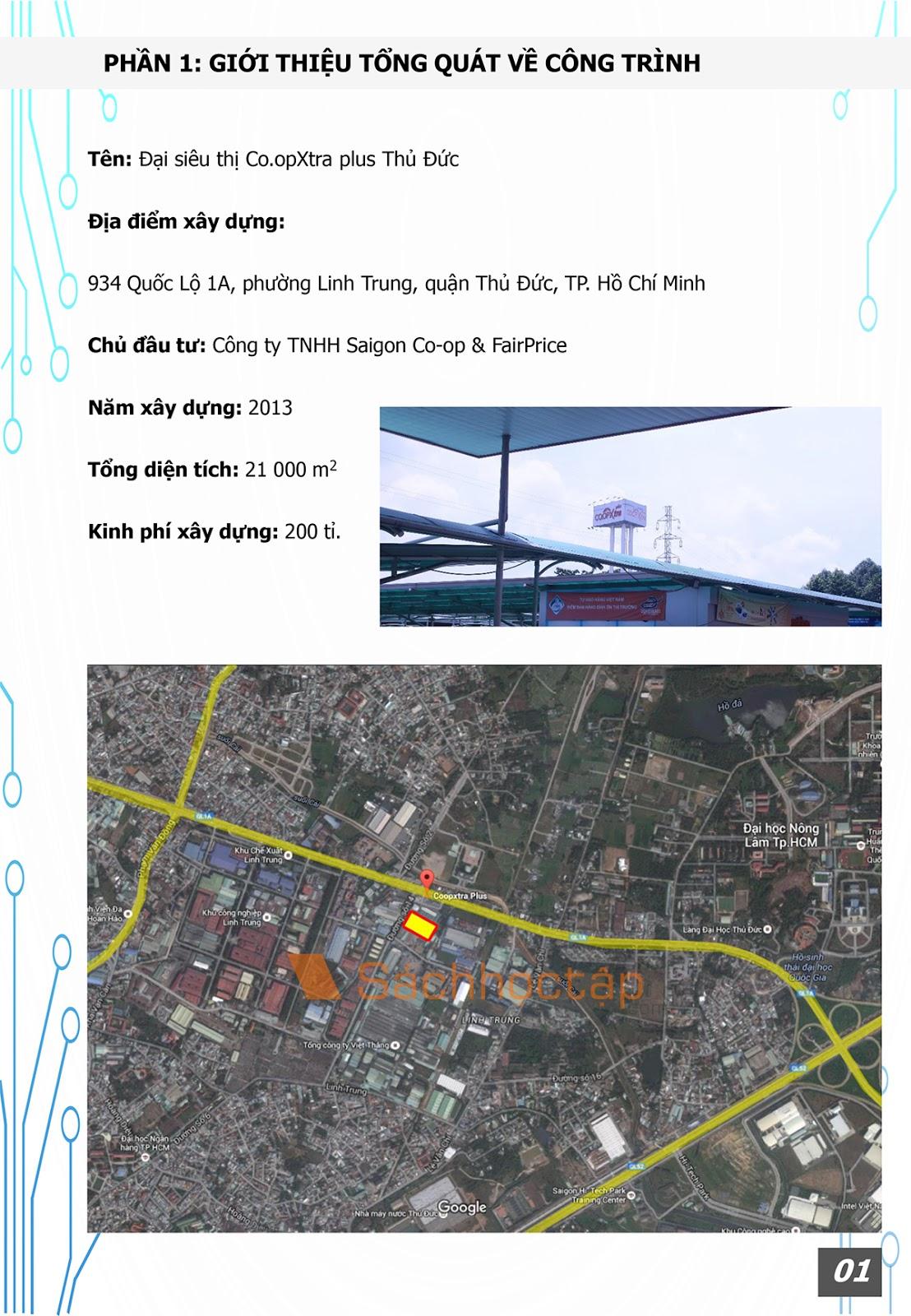 Chuyên đề kiến trúc 4: Kiến trúc thương mại - Dịch vụ: Siêu thị Co.opxtra Plus Thủ Đức - Preview 2