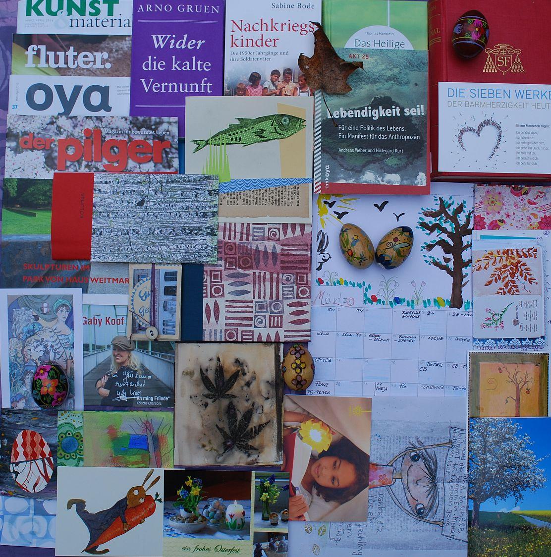 Jahreszeitenbriefe monats collage m rz 2016 - Gartenarbeit im marz ...