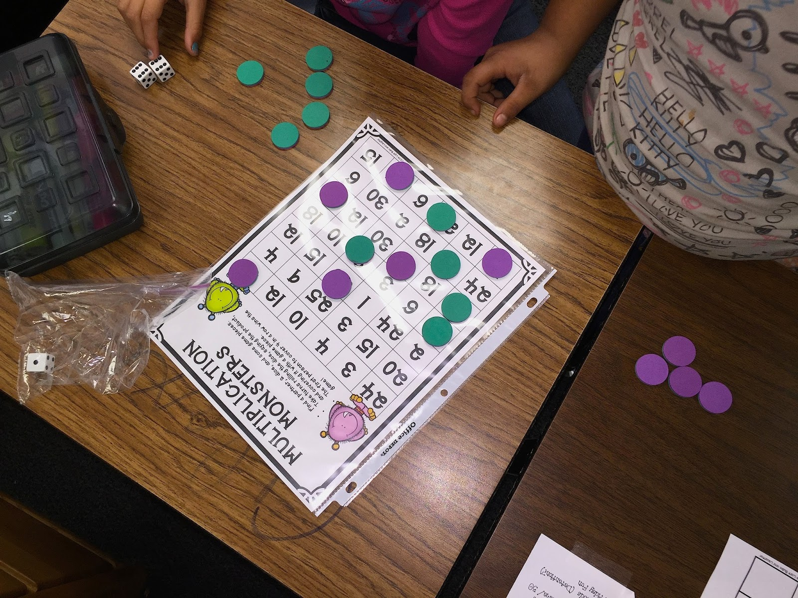 Multiplication games as formative assessments - Light Bulbs and Laughter Blog