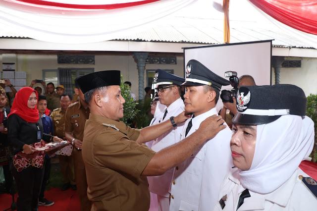 Nanang Ermanto Lantik 7 Penjabat Kepala Desa di Natar