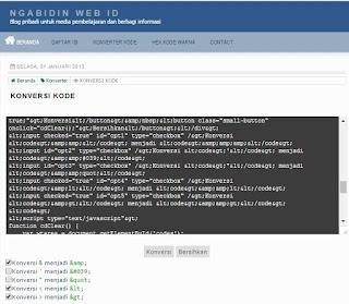 Script Converter Code