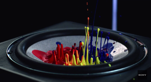 Cymatics tests the power of Sony's MHC-V7D speakers with the Kiesza hit - Hideaway