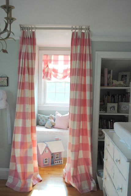 In Your Back Pocket Curtain Window Seat Nook