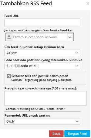 cara share otomatis artikel blog ke fb