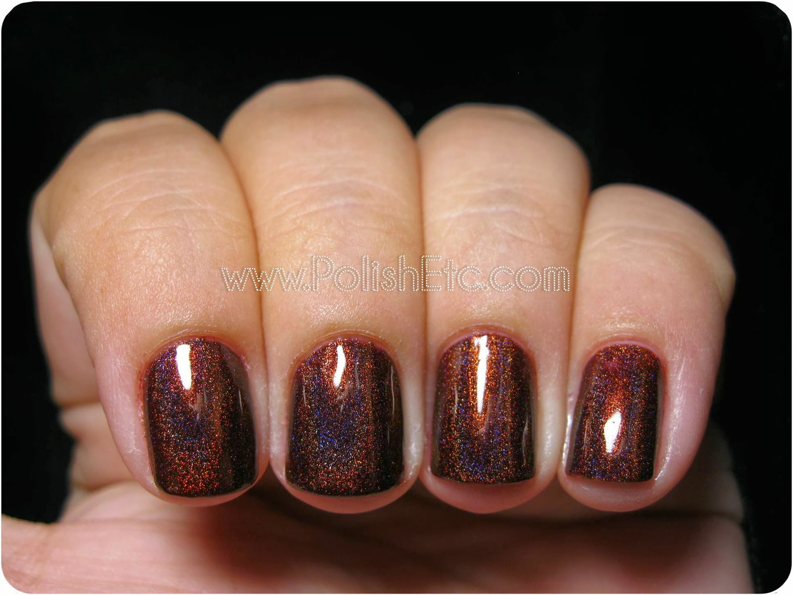 Glitter Gal Belgian Chocolate Swatches - Polish Etc.