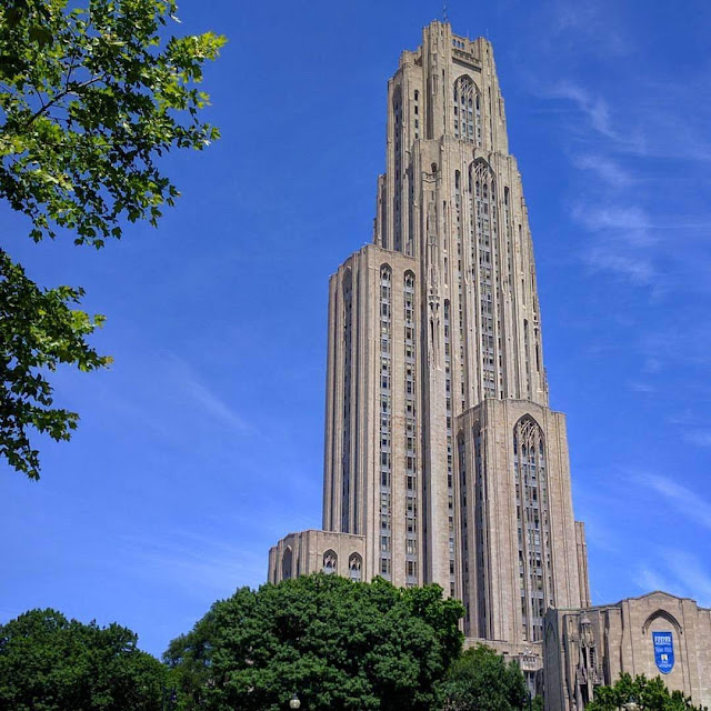 University of Pittsburgh's Cathedral of Learning in Pittsburgh