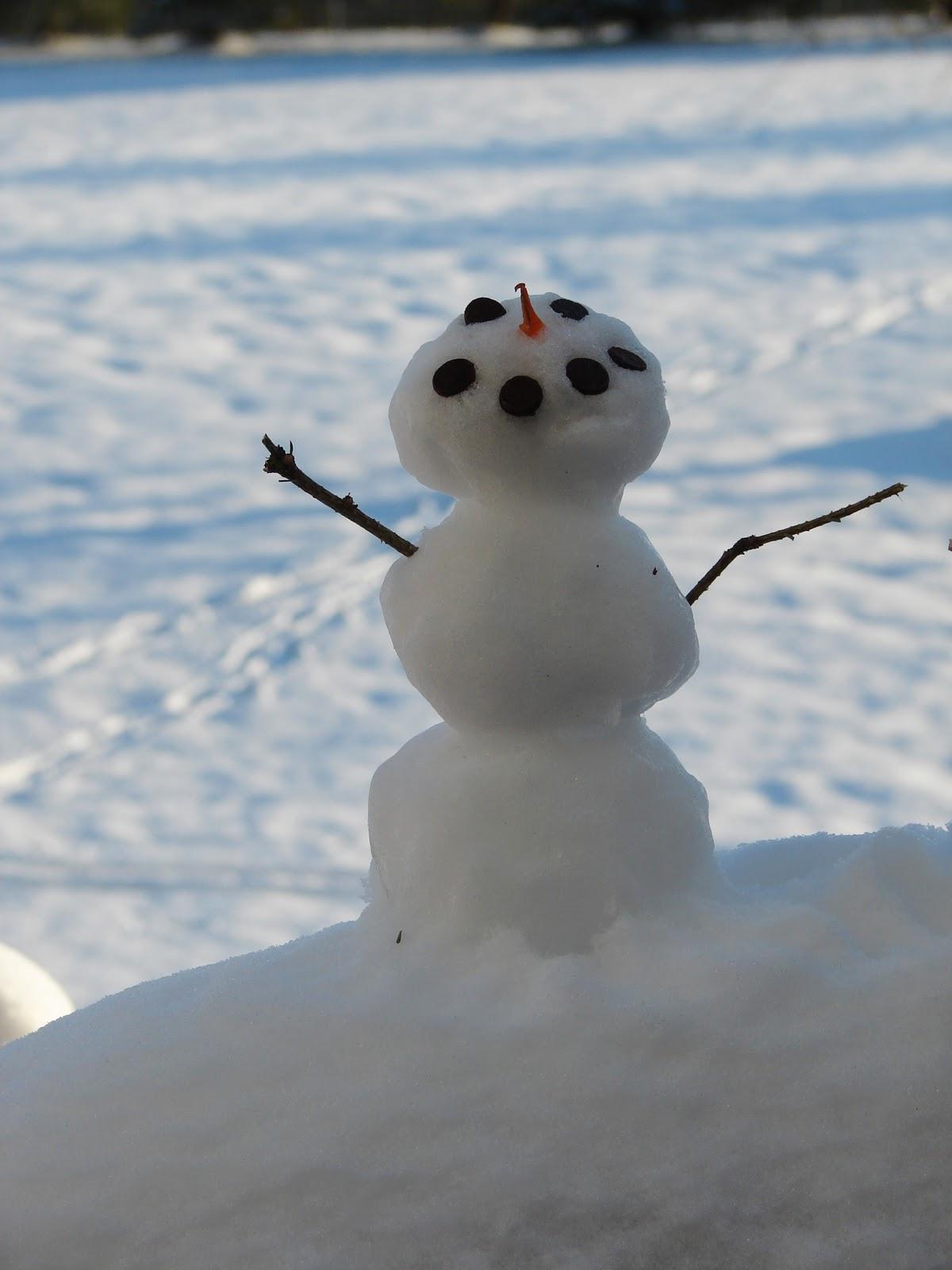 Mk Inspired Mini Snowmen