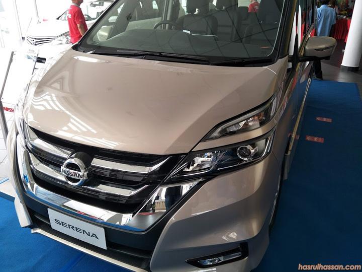 Pandu Uji Nissan Serena Highway Star Baru 2018