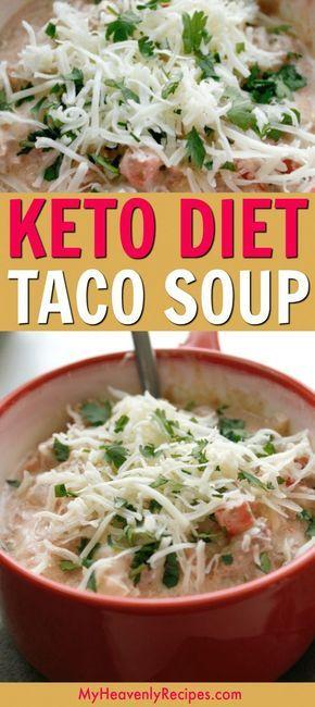 Keto Diet Taco Soup Recipe