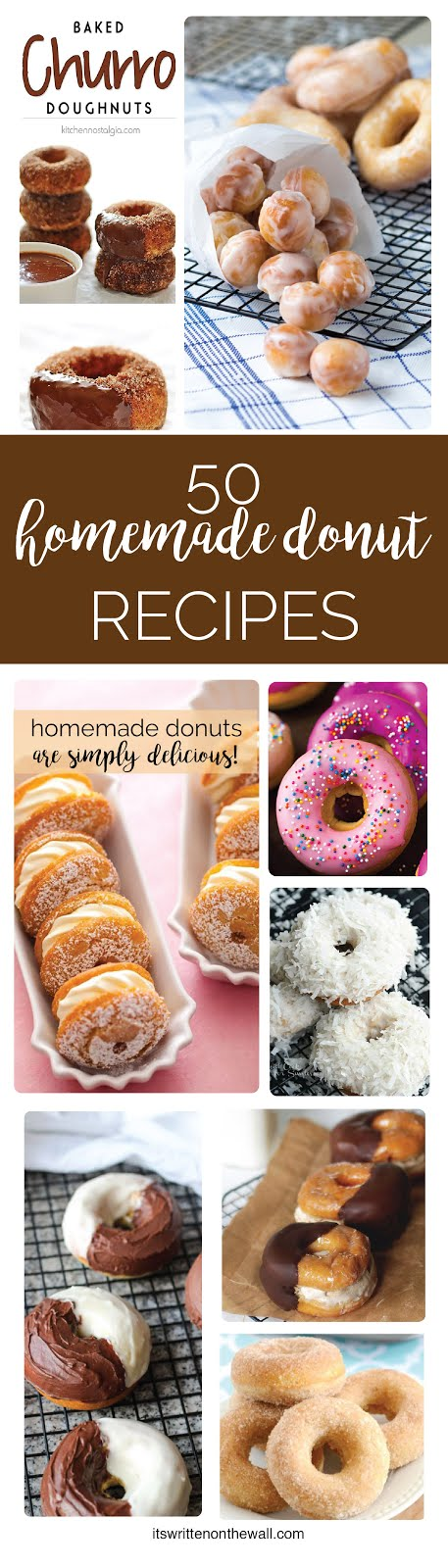 50 Yummy Donut Recipes To Choose From