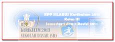 RPP Kelas 3 Kurikulum 2013 Semester 1 dan 2