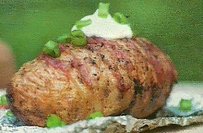 Картофель с салом, запеченный в фольге. Необходимые продукты и способ запекания картофеля
