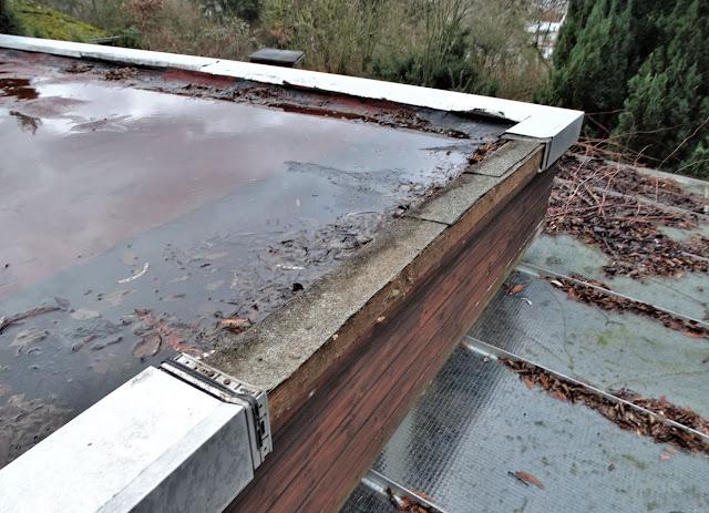 10 Zentimeter Hoch über Höhe Der Oberkanten Dach Träger Hochgezogen So Dass Ebene Dachfläche Cm Tiefer Liegt