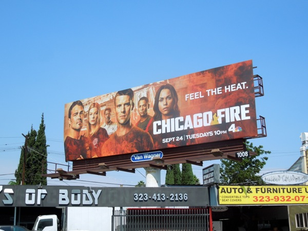 Chicago Fire series 2 billboard