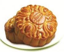 Bánh trung thu Bibica - Đậu xanh gấc không trứng