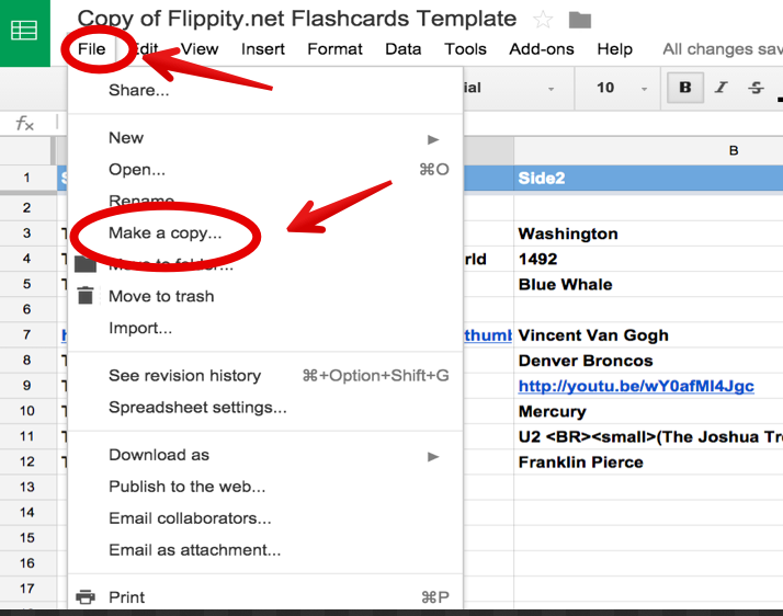 A Step By Step Guide On How To Create Flashcards Using