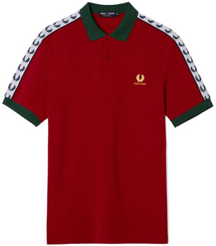 camiseta polo Portugal Eurocopa 2016 Fred Perry