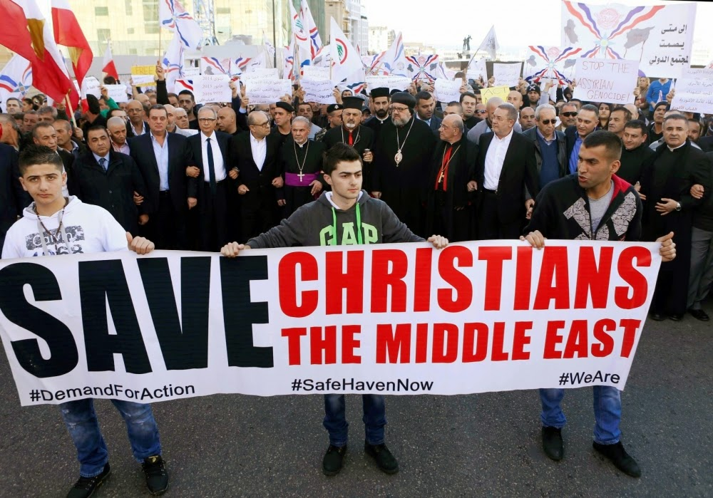ISIS Meminta Sandera Kristen Suriah Masuk Islam, tetapi Semua Menolak Meninggalkan Yesus Kristus