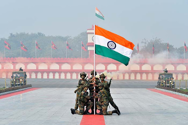 Republic Day Wallpaper Of Indian Army
