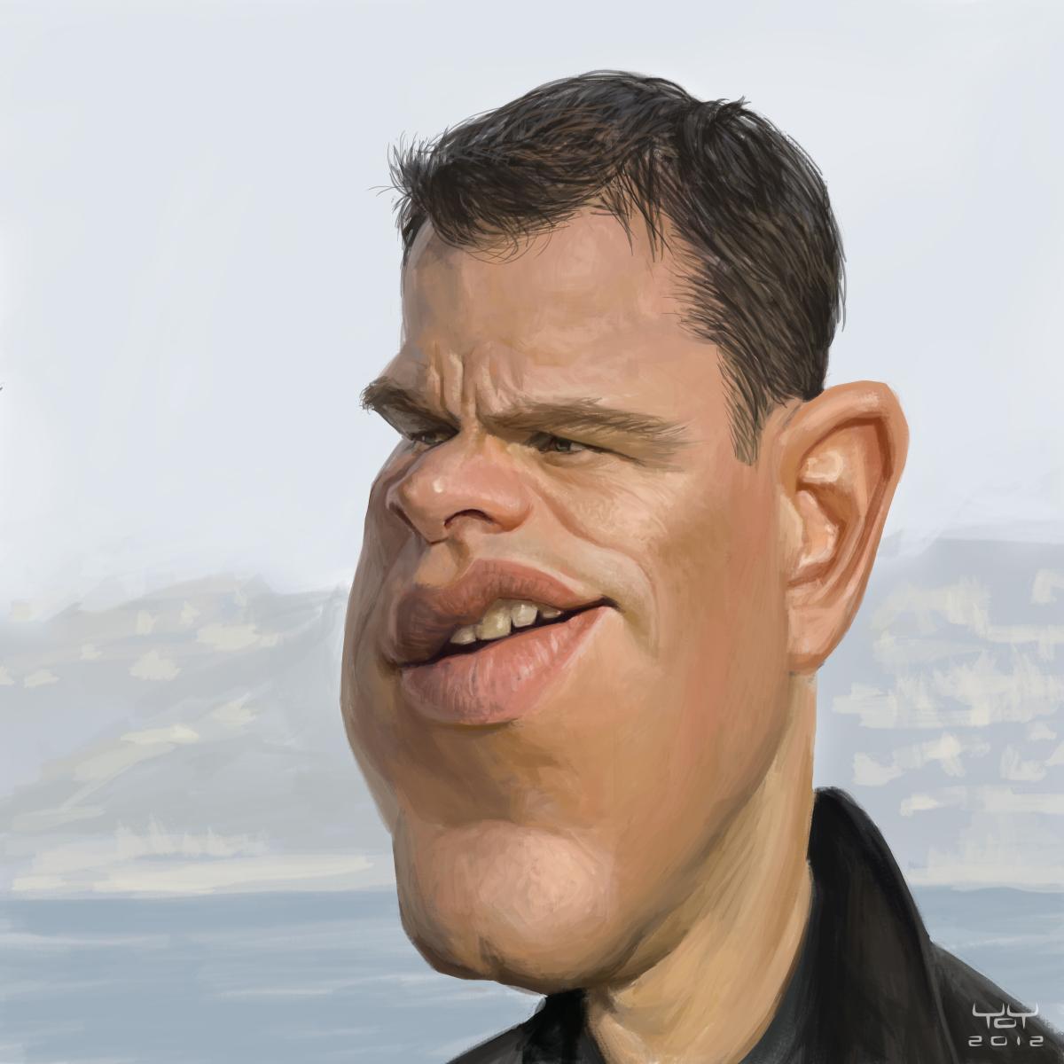 Matt Damon | Yoann Lor...