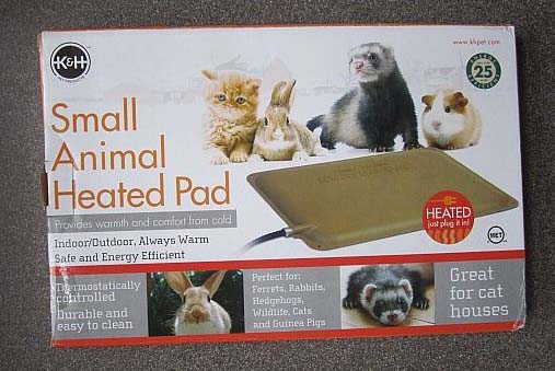 I Just Got This Small Animal Heating Pad For My Adopted Outside Cat Gritsy S Outdoor Kitty House Grits Won T Sit Still A Picture So Here Of