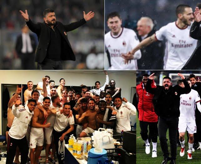 Lazio-Milan si è decisa ai calci di rigore: la finale di Coppa Italia sarà Juve-Milan