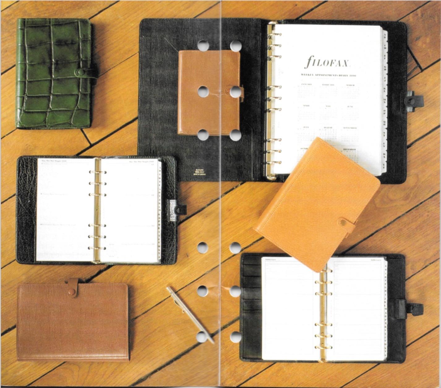 Old Filofax/Lefax Catalogues