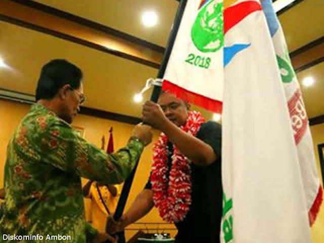 Kirab Pemuda Nasional Zona 2 Singgah di Kota Ambon
