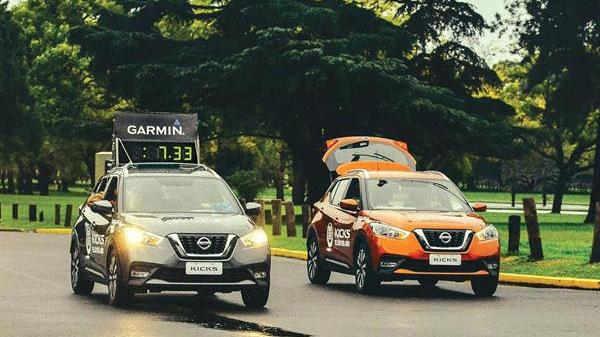 Nissan Kicks marcará el ritmo de la Maratón de Buenos Aires