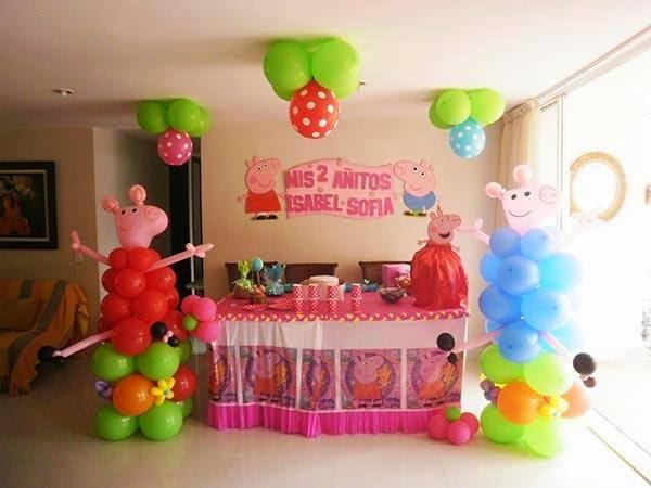 Decoraciones bella cruz decoraciones peppa pig for Decoraciones para decorar