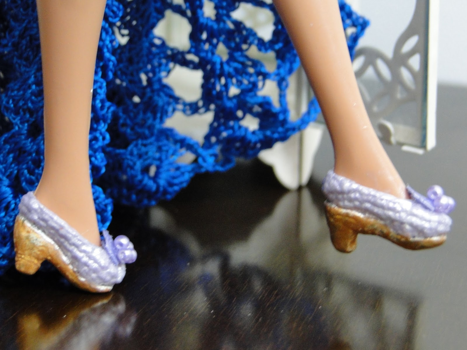 Coleção de Sapatinhos de Crochê Para Barbie - Por Pecunia MillioM