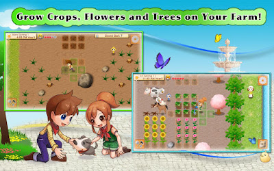 grow crops, flower along with also trees on your farm